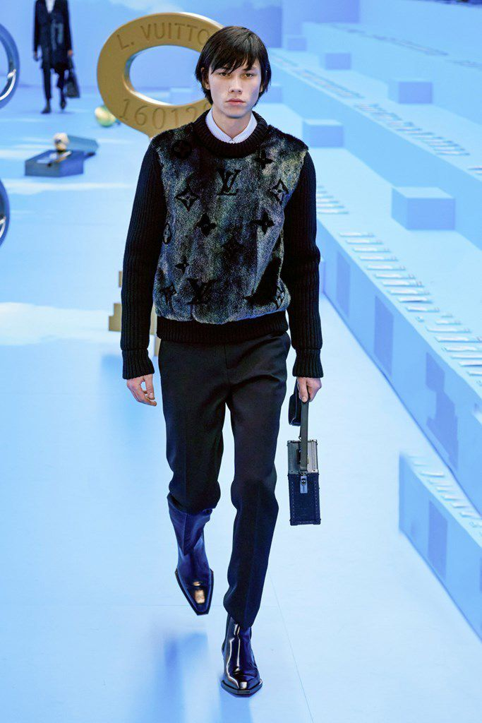 LOUIS VUITTON FALL 2020 MENSWEAR COLLECTION AT PFW