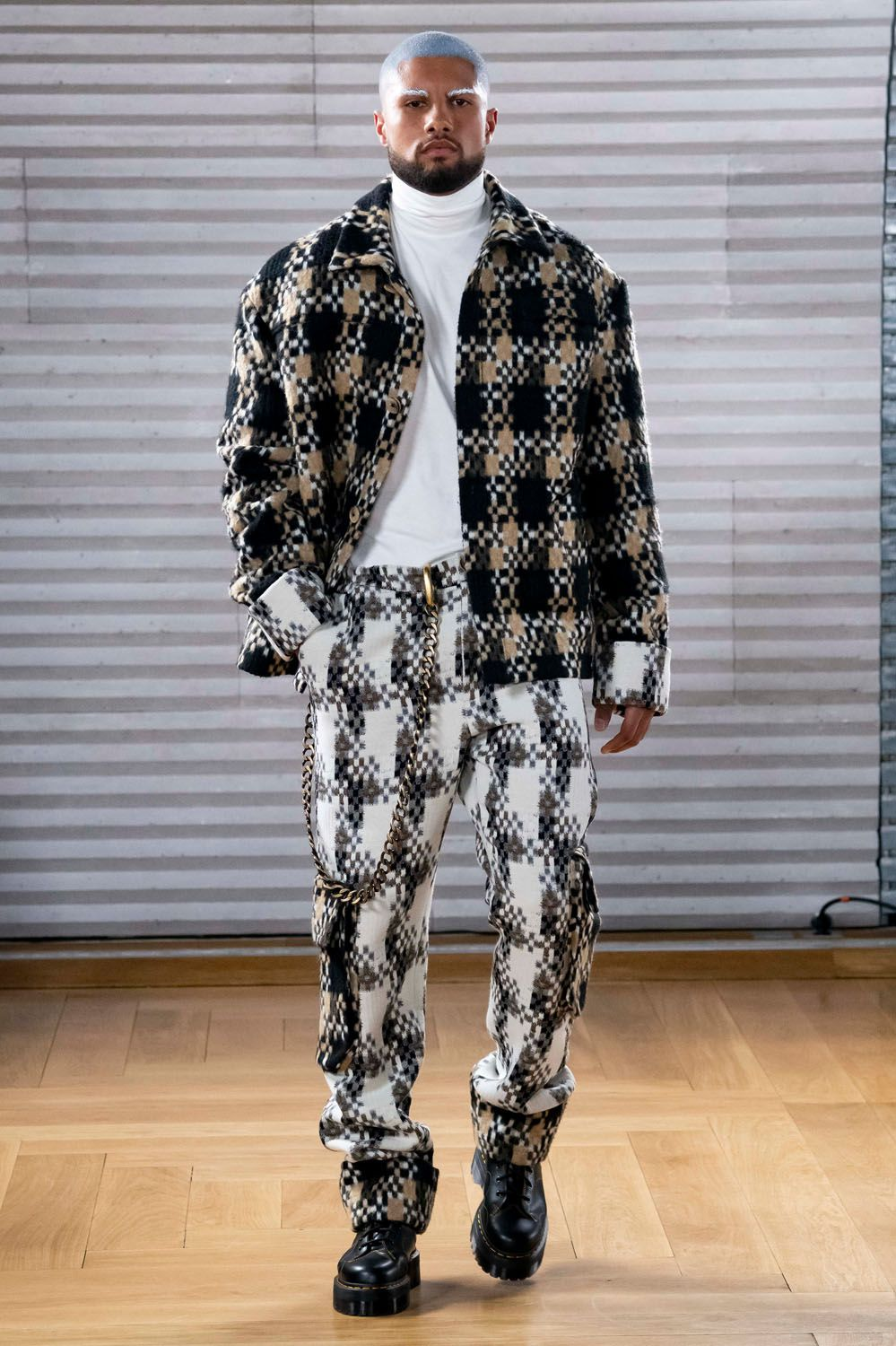 GUNTHER FALL 2020 MENSWEAR COLLECTION AT PFW