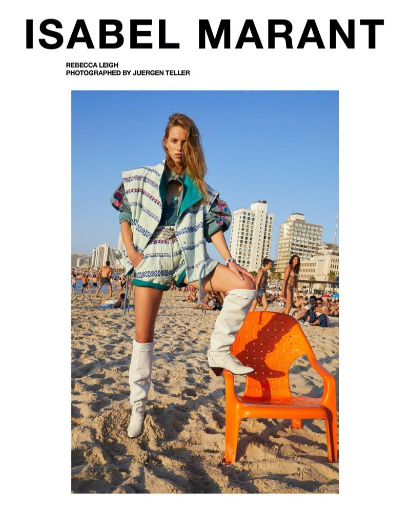 ISABEL MARANT SPRING 2020 AD CAMPAIGN