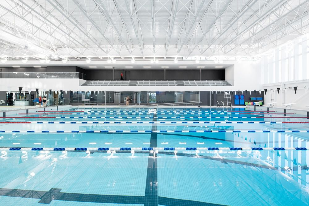 BELOEIL AQUATICS CENTRE BY LEMAY ARCHITECTS IN BELOEIL, CANADA