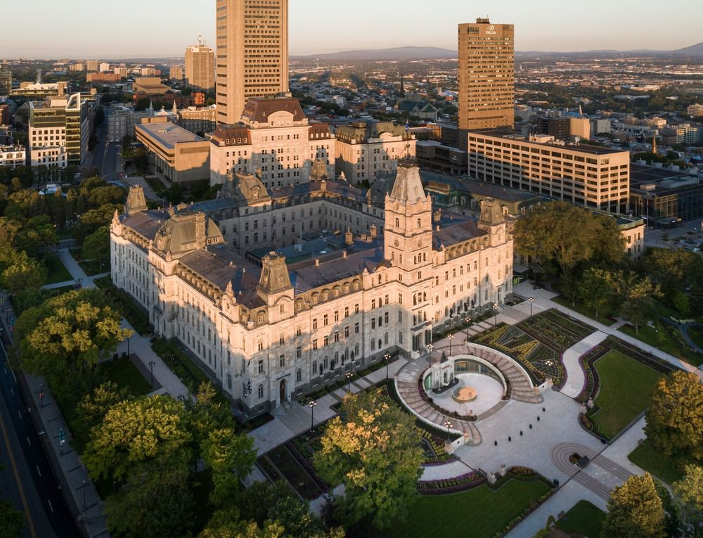 NATIONAL ASSEMBLY OF QUÉBEC, CELEBRATING DEMOCRACY WITH A NEW PAVILION IN QUÉBEC, CANADA AND DESIGNED BY PROVENCHER ROY ARCHITECTES I GLCRM ARCHITECTES