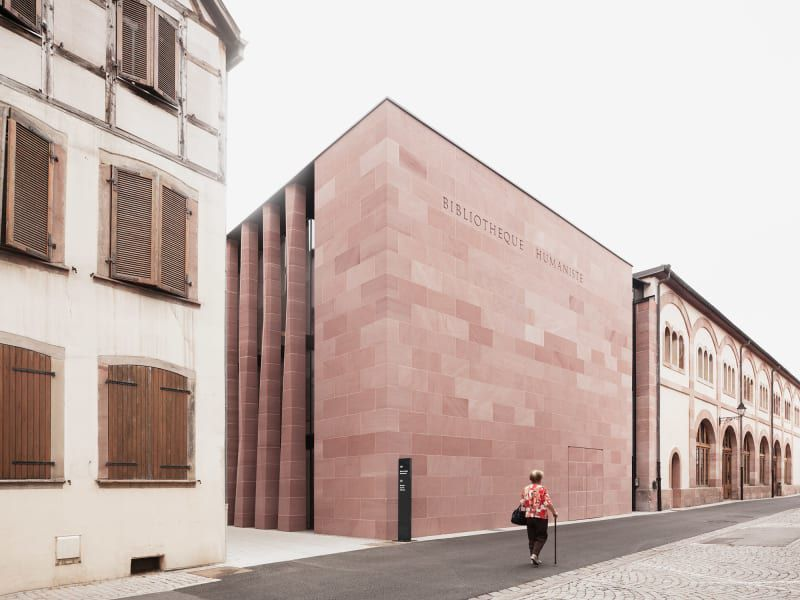 🏗 DISCOVER THE LIBRARY 'BIBLIOTHÈQUE HUMANISTE' IN SÉLESTAT, FRANCE BY THE ARCHITECT RUDY RICCIOTTI