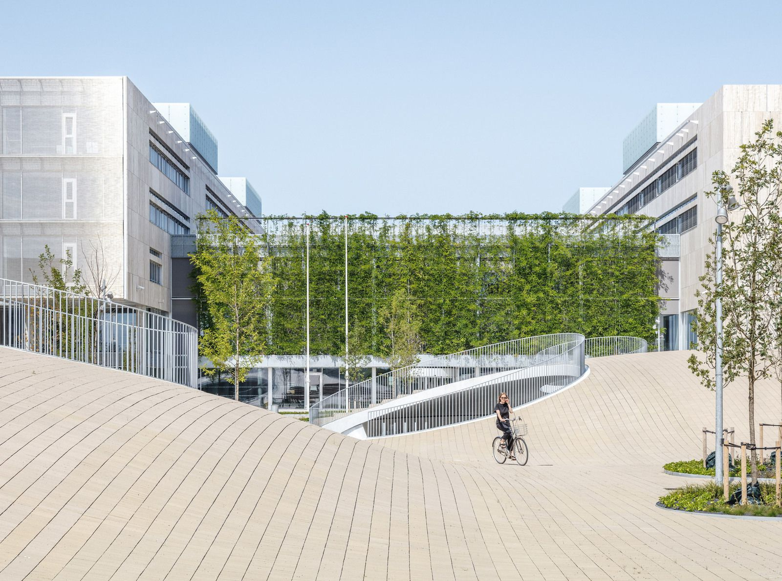 KAREN BLIXENS PLADS, A NEW URBAN SPACE BY THE UNIVERSITY OF COPENHAGEN AND DESIGNED BY COBE ARCHITECTS