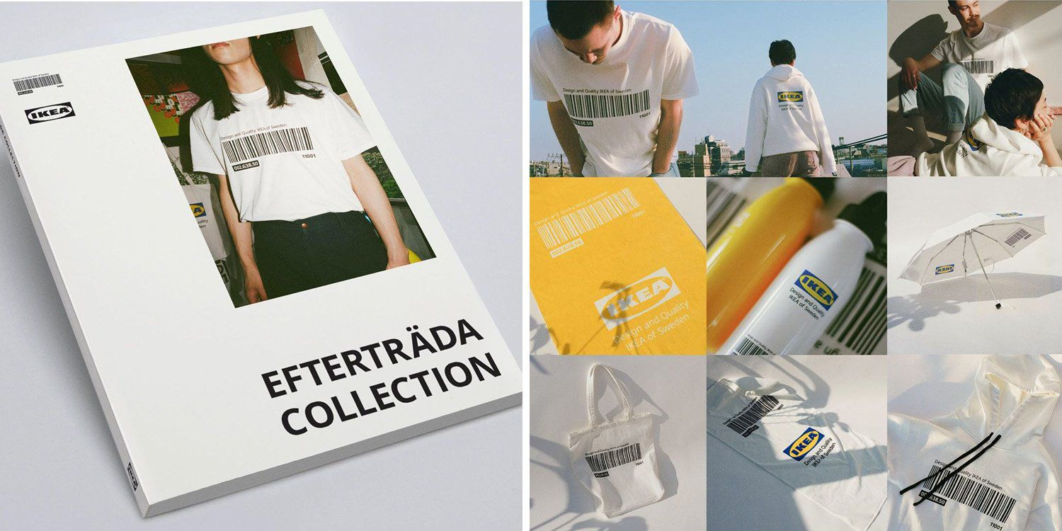 IKEA LAUNCHES A CLOTHING LINE !