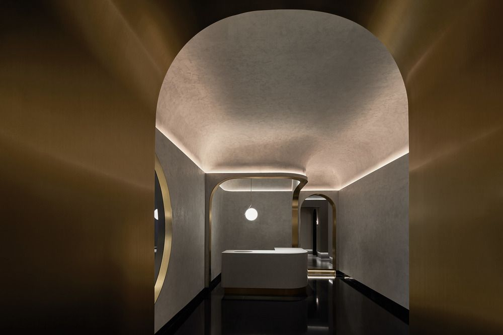 GREEN MASSAGE SPA IN SHANGAI, DESIGNED BY VERMILION ZHOU DESIGN GROUP
