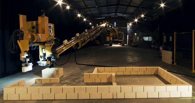 Fastbrick Robotics : la contrustruction robotisée de maison