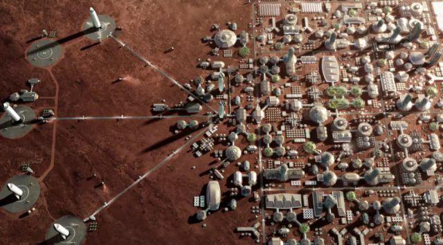 Le début de l'installation sur Mars en 2022 ?