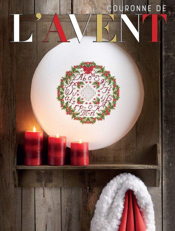 Livre Merveilleux Noël à broder