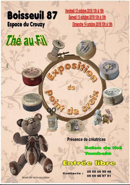 Salon Boisseuil (87) les 12-13 et 14 Octobre 2018