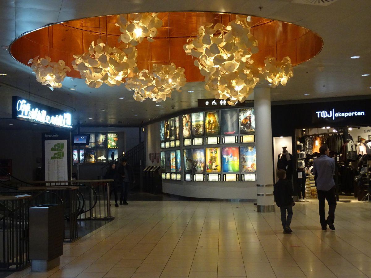 Outre les magasins, un multiplex de cinémas