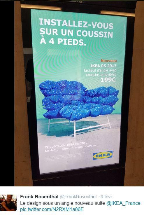 Retail Tweets 18 : Ikea et sa nouvelle campagne PS : le design sous un angle nouveau