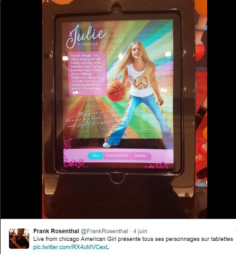 Retail Tweets n°33 : American Girl et ses personnages