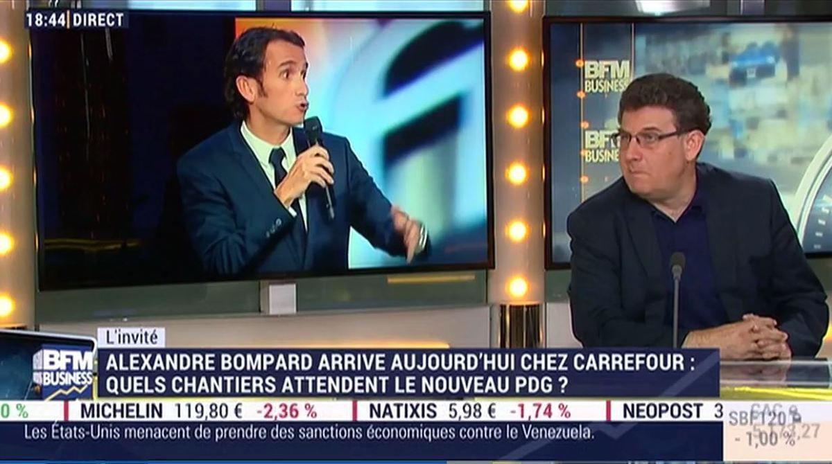 10 minutes de direct sur les prochains chantiers de Carrefour