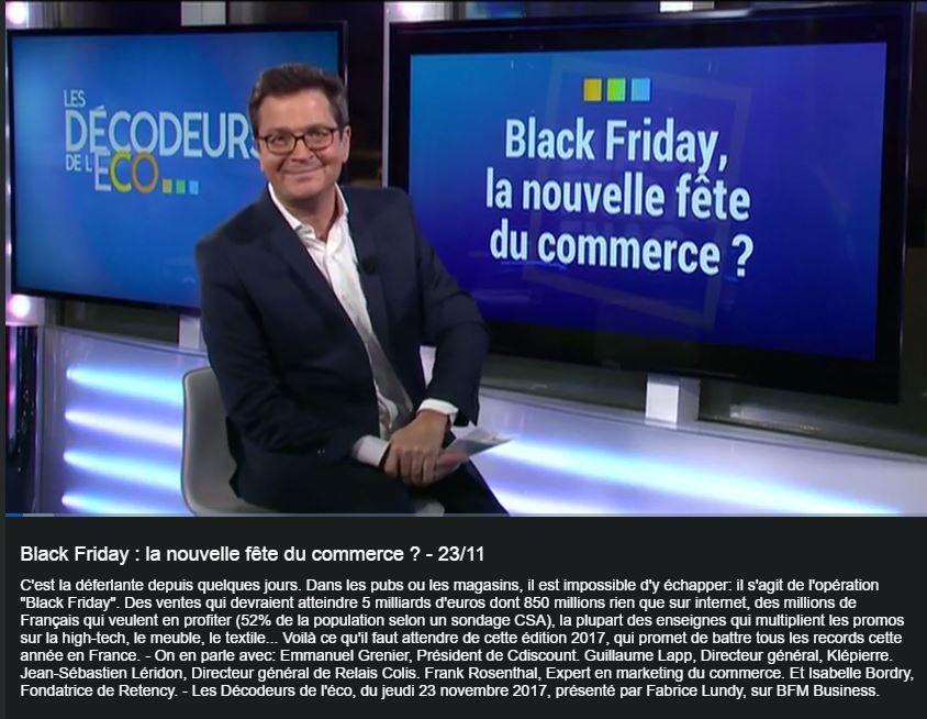 Les Décodeurs de L'Eco : Black Friday : Nouvelle fête du commerce ?