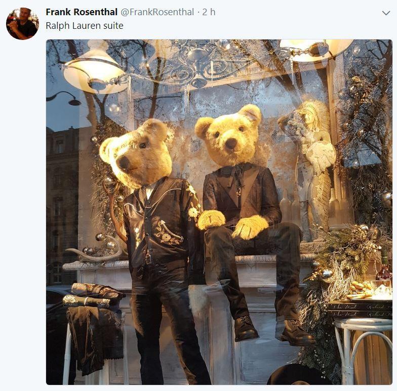 Retail Tweets n°42 : les vitrines de Ralph Lauren Paris