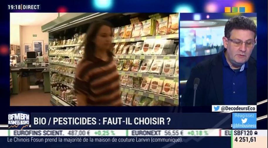 Dans l'émission, je parle notamment de la bataille entre GSA et spécialistes de la bio