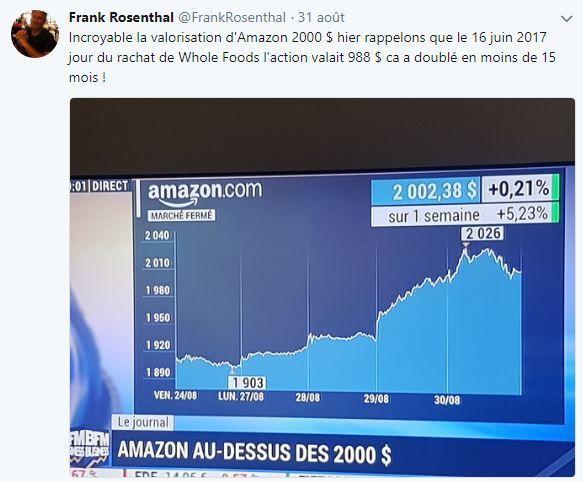 Retail Tweets n°54 : Amazon bat des records en bourse