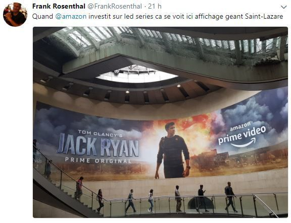 Retail Tweets n°56 : Amazon offensif sur les séries avec Jack Ryan