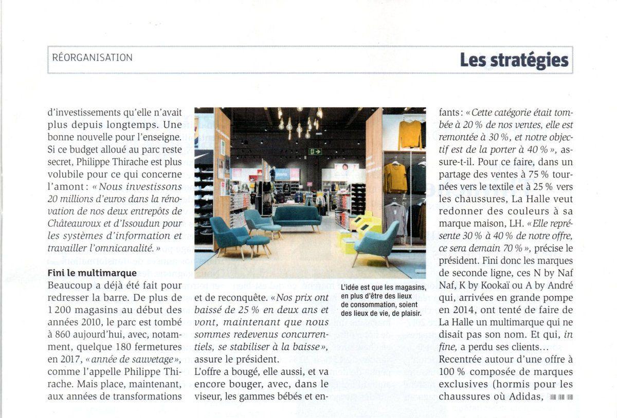 Dans les médias (61) : LSA : le renouveau de La Halle