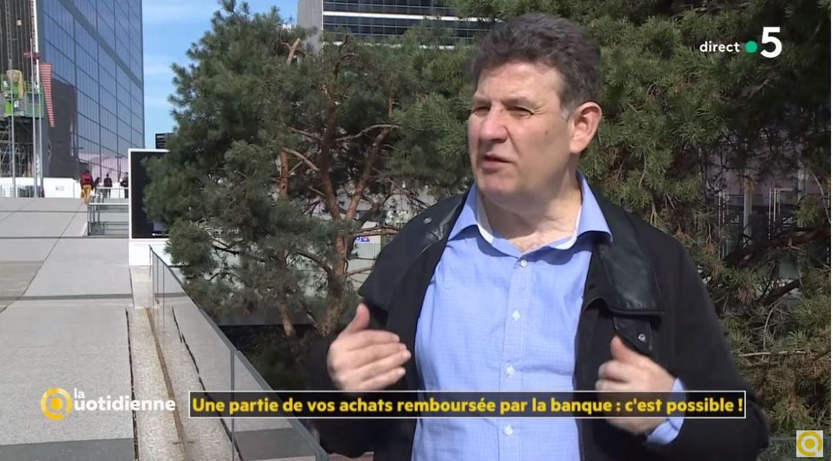 Dans les médias (65) : France 5 : La quotidienne : le cashback