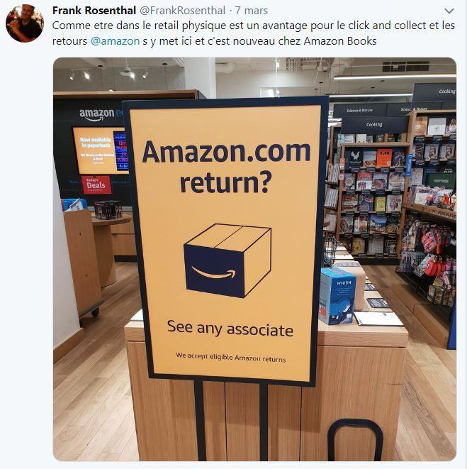 Retail Tweets n°85 : les magasins innovants de Los Angeles (2) : Amazon Books