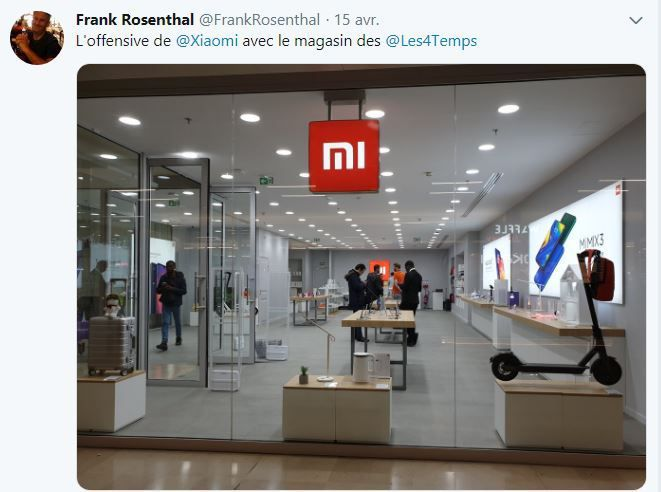 Retail Tweets n°88 : l'offensive du chinois Xiaomi