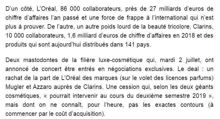 Dans les médias (118) : BFM Business : chamboulement sur le marché des parfums
