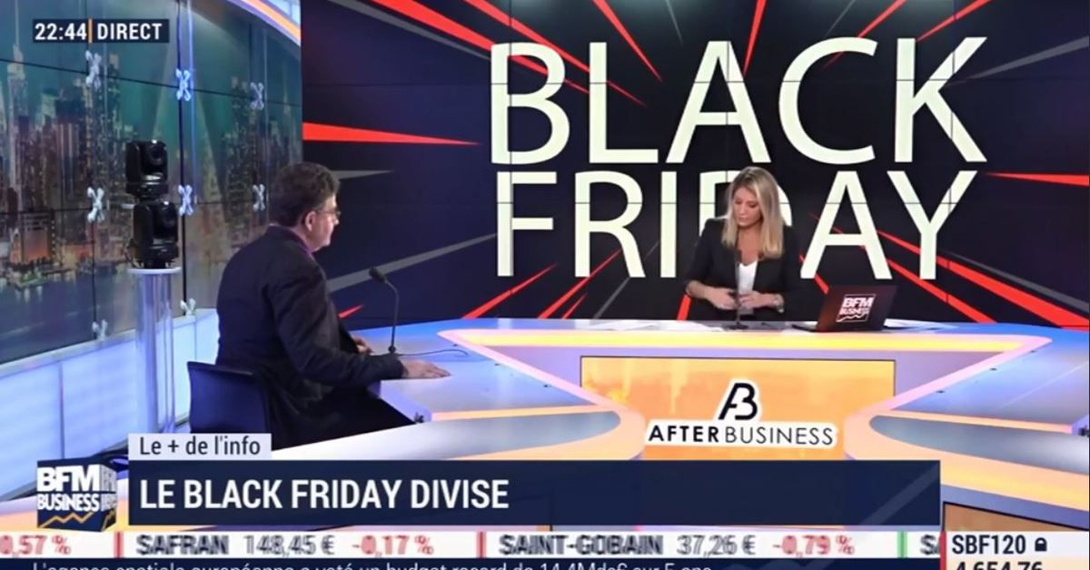 Dans les médias (141) : BFM Business After Business : Le Black Friday divise