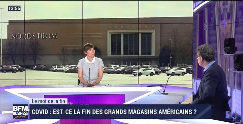 Dans les médias (171) : BFM Business : innover pour le commerce : la fin des grands magasins américains