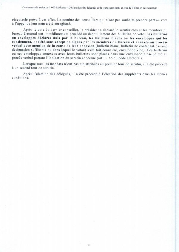 Razecueille délibération 10 juillet 2020 désignation des délégués pour les sénatoriales
