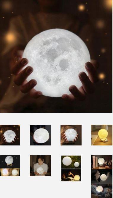 Découvrez la magie de la lune avec cette superbe lampe sur la boutique de miss Zen sur le blog de rené dumonceau