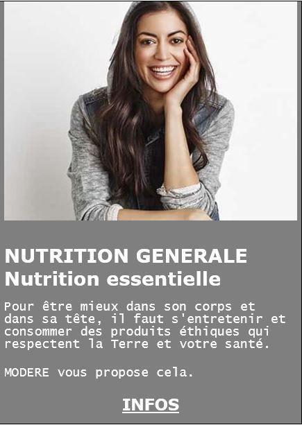 Pour être mieux dans son corps et dans sa tête, il faut s'entretenir et consommer des produits éthiques, qui respectent la Terre et votre santé. MODERE propose ces produits