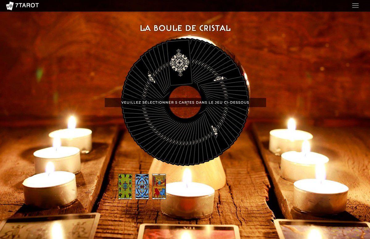 Lancement du site 7Tarot.fr : une expérience divinatoire particulièrement soignée que je vous recommande