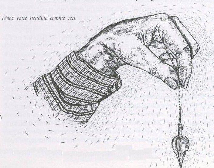 Comment se servir d'un pendule