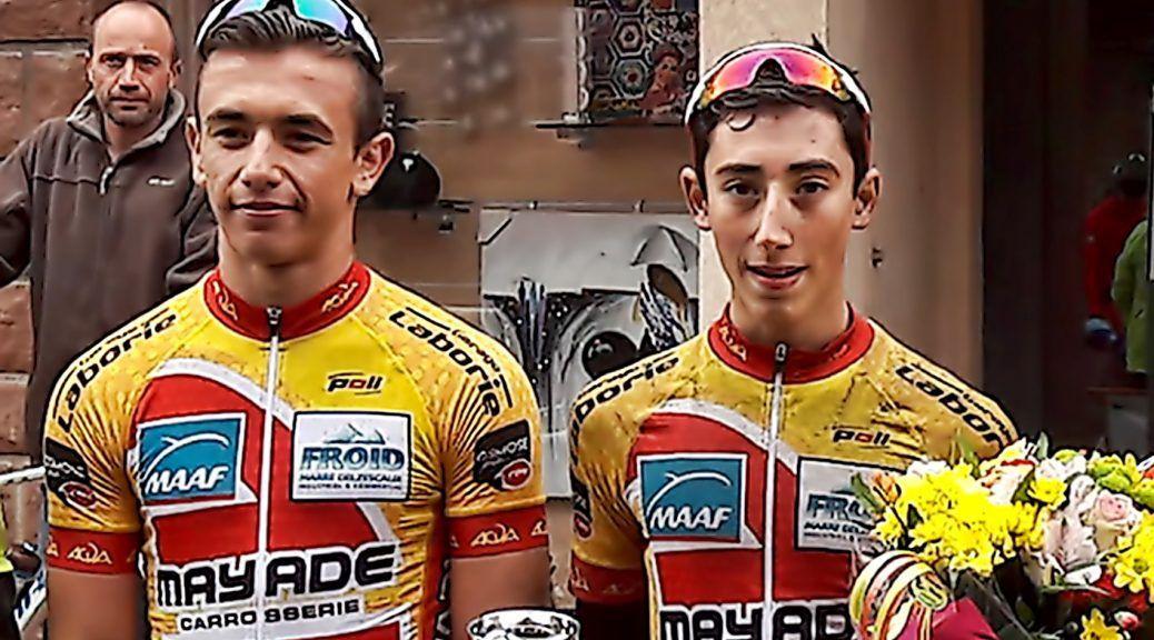 Antoine Laborie vainqueur ce dimanche à Saint-Cyprien-sur-Dourdou  (Photo Jérôme Valadou)
