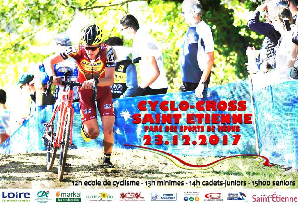 Demain, cyclo-cross de Saint-Etienne