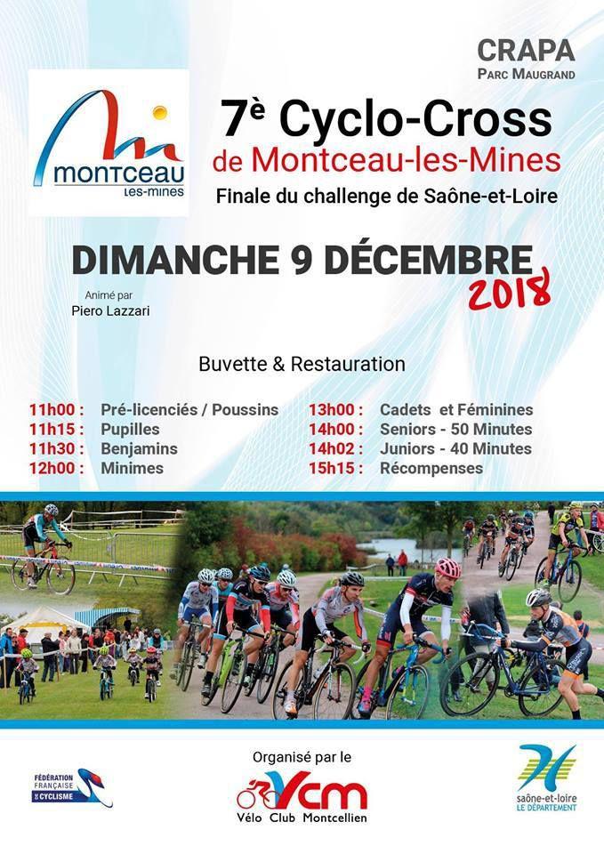 Dimanche, cyclo-cross de Montceau-les-Mines