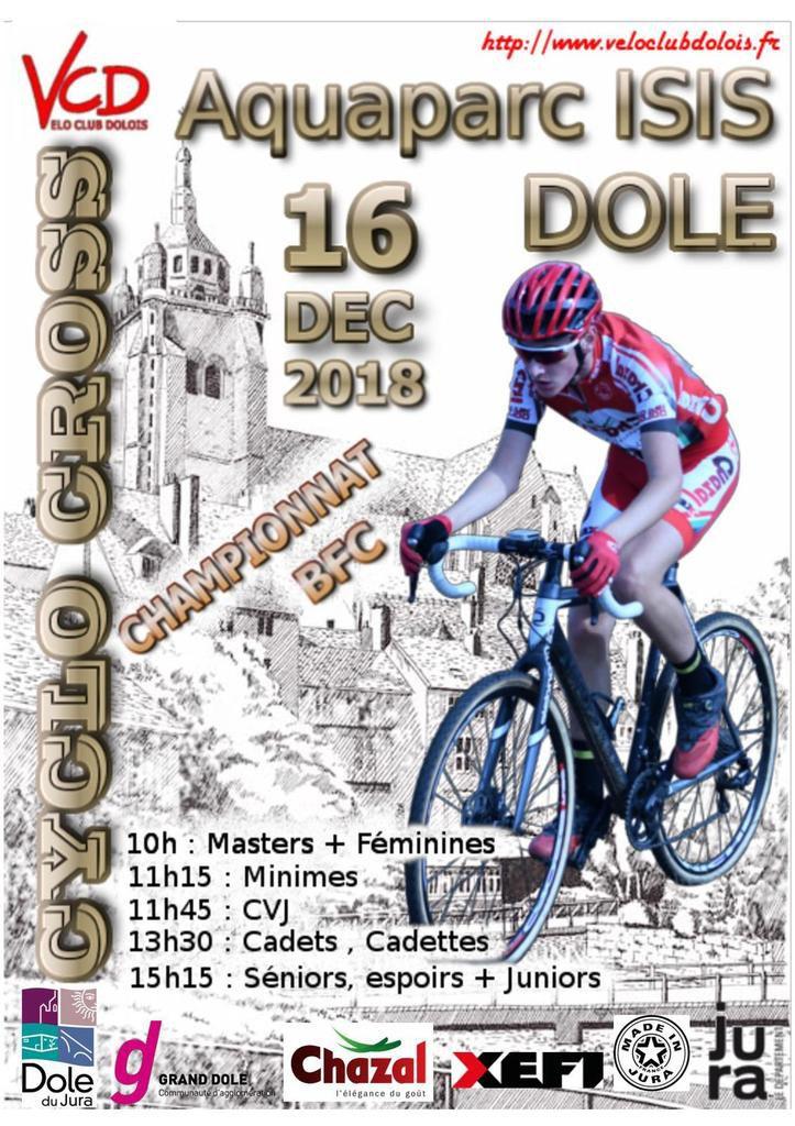 Championnat de Bourgogne Franche-Comté de cyclo-cross