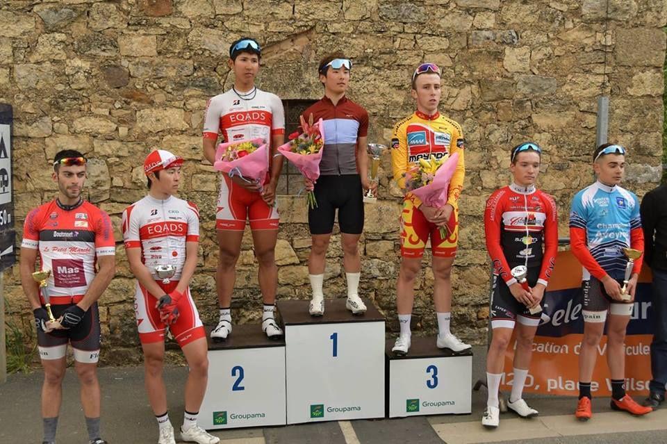 Le podium  (Source ACV Aurillacois)