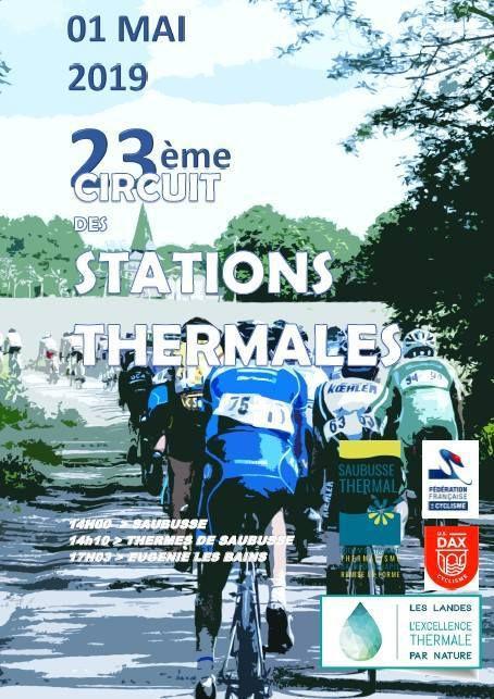 Mercredi, Circuit ses stations thermales des Landes