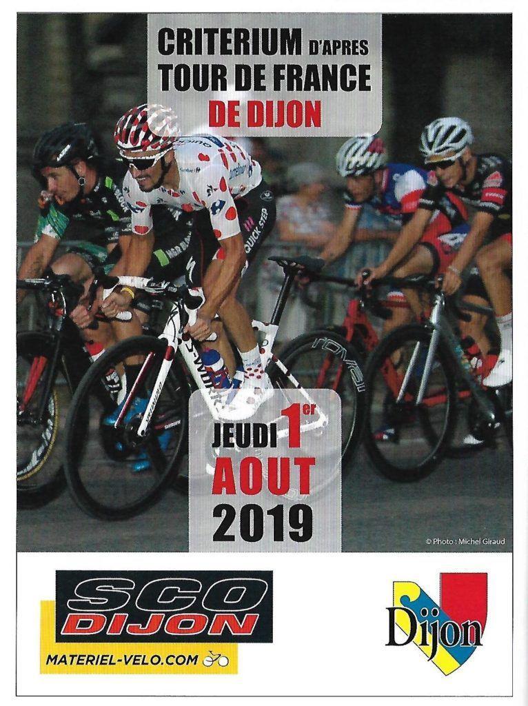 Le programme du critérium de Dijon