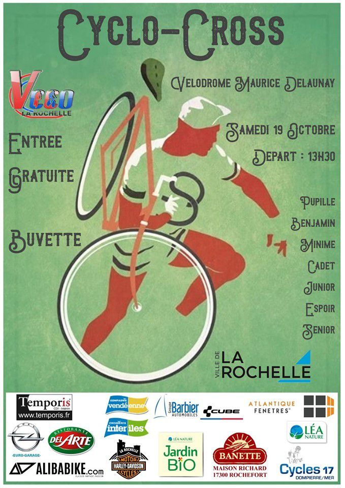 Samedi, cyclo-cross de La Rochelle