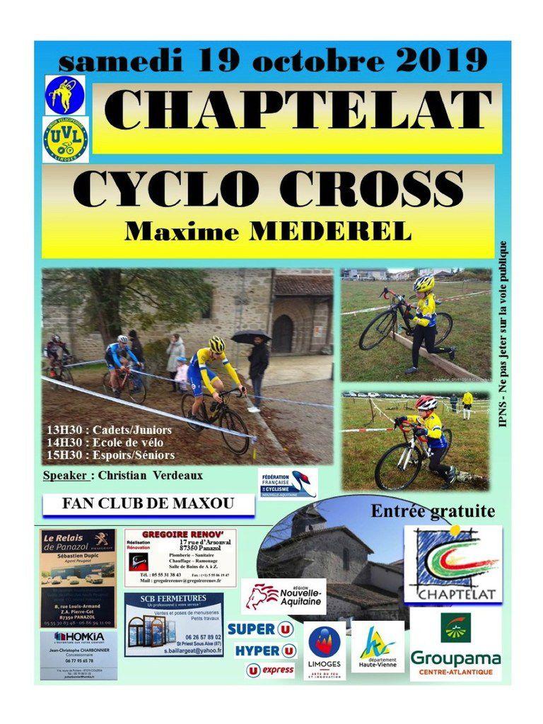 Samedi, cyclo-cross de Chaptelat