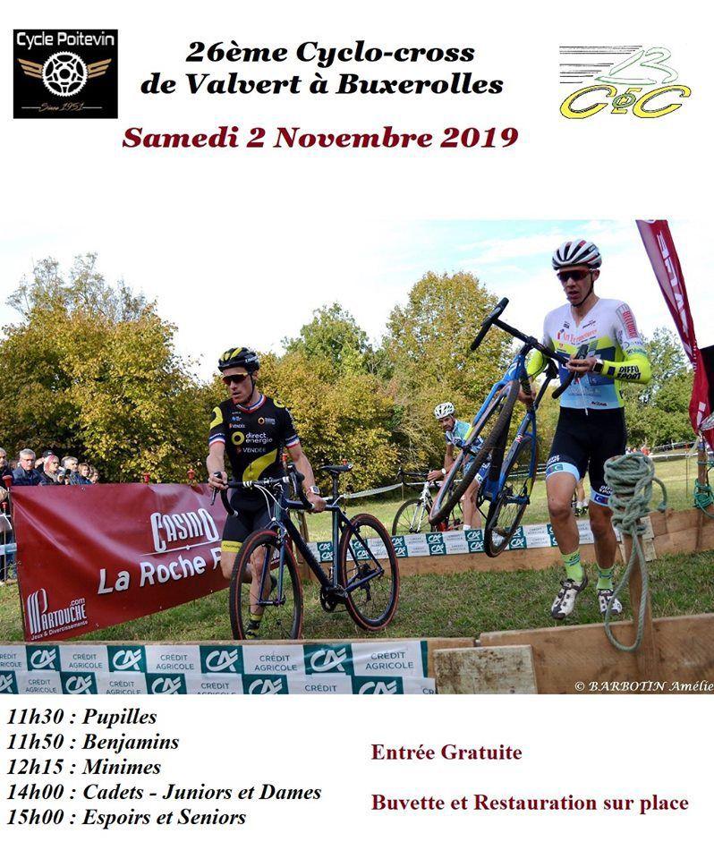 Samedi, cyclo-cross de Buxerolles