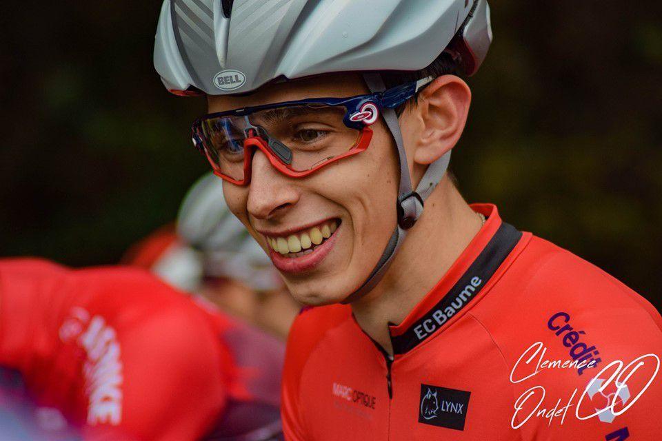 Une huitième place encourageante pour Quentin Navarro  (photo Clémence Ondet)