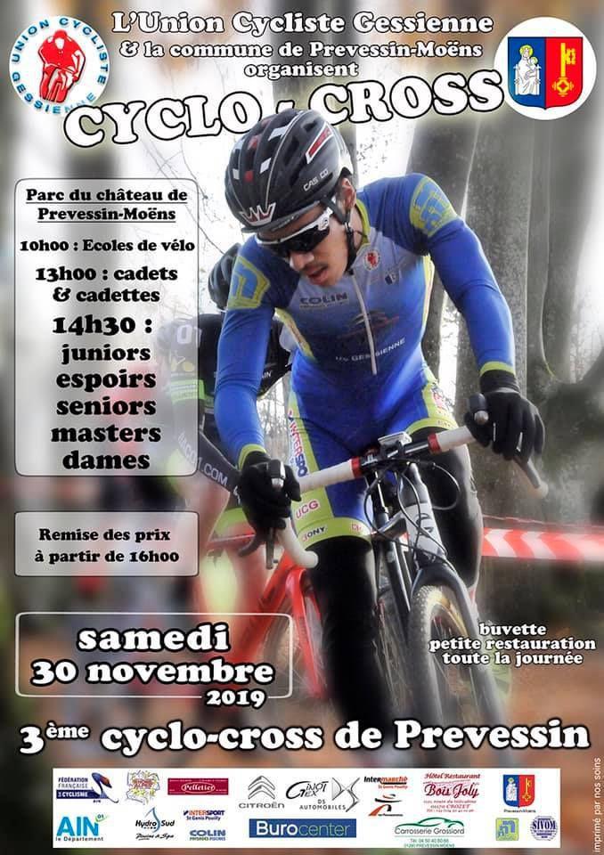 Le cyclo-cross de Prévessin-Moëns est annulé