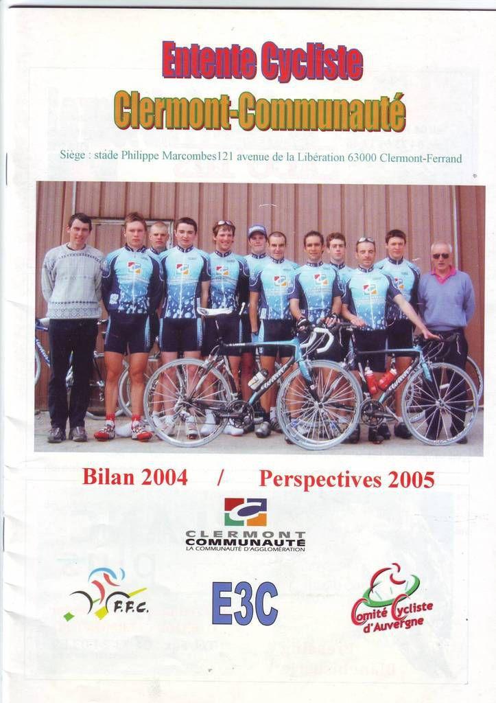 L'Entente Cycliste Clermont-Communauté