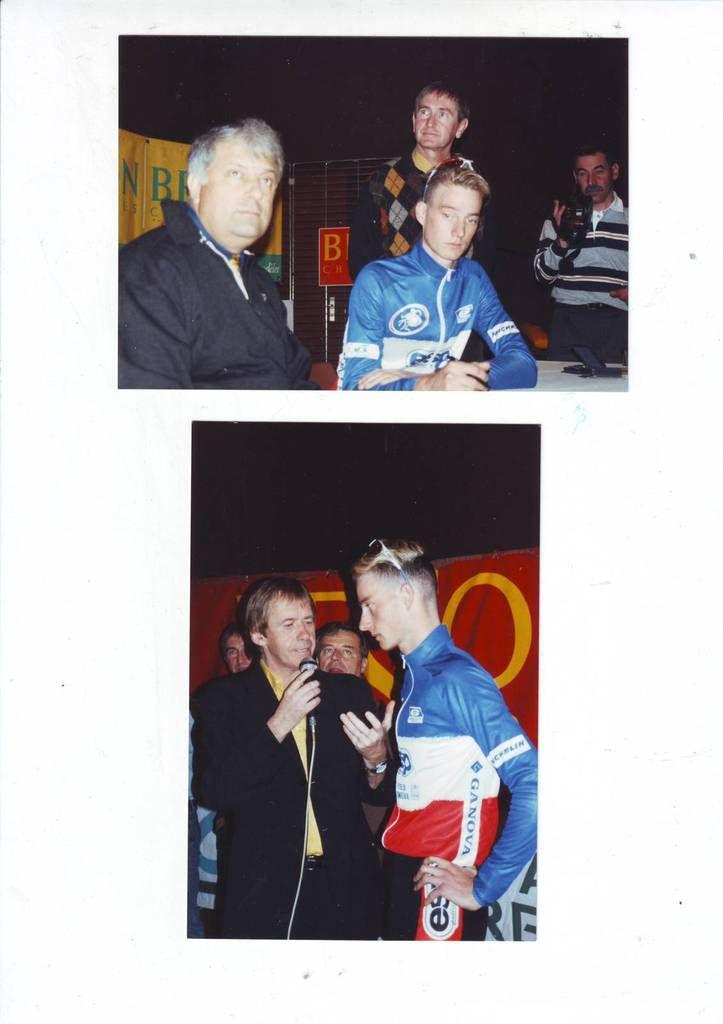 C'est à Lapalisse que Christophe Morel a officialisé son contrat le liant au Team Besson Chaussures.