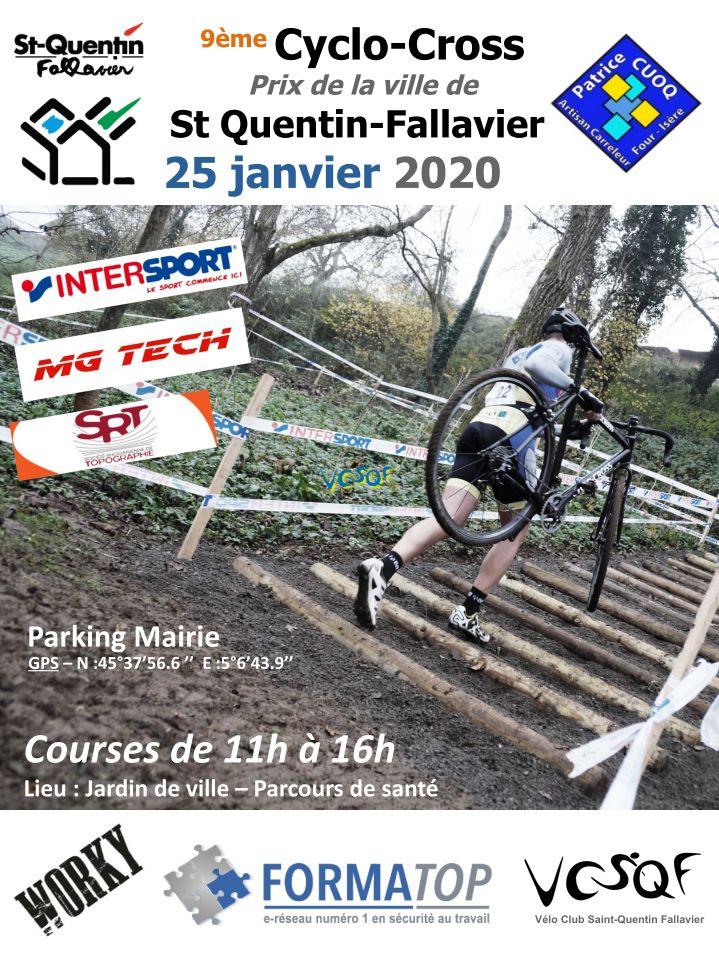 Demain, cyclo-cross de Saint-Quentin-Fallavier