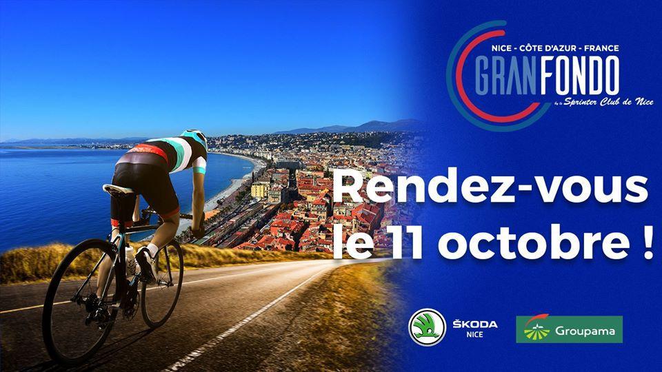 La Granfondo Nice Côte d'Azur reportée au 11 octobre